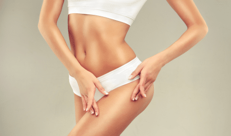 reduce lower body fat with yoga