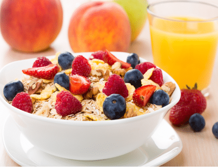 healthy breakfast ideas for weight loss for school