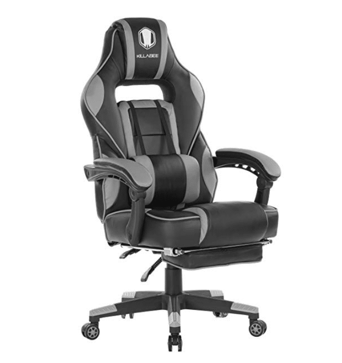 KILLABEE Reclining Memory Foam Racing Gaming Chair